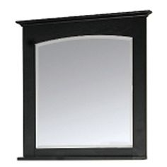 Kingsland 8001-M28-LGS 26-in W x 30-in Rectangular Bathroom Mirror, Ebony * Visit the image link more details. (This is an affiliate link and I receive a commission for the sales)