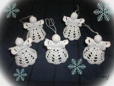 Crochet angels -Horgolt angyalkák