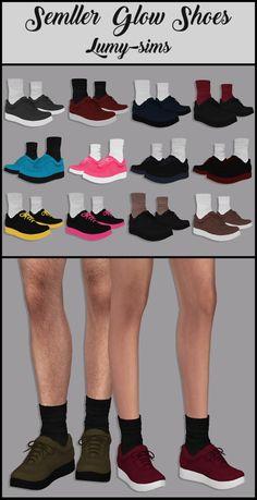 LumySims: Semller Glow shoes • Sims 4 Downloads