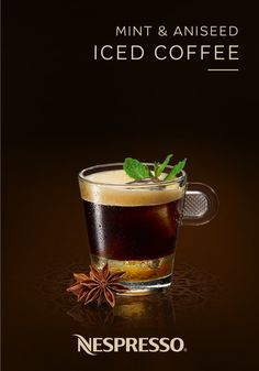 This Mint and Aniseed Iced Coffee is a deliciously refreshing way to enjoy your favorite Nespresso flavors. Savor the bold intensity of Cosi Grand Cru as it mixes with fresh mint, fragrant aniseed, and sweet honey to create a one-of-a-kind coffee drinking experience. Click here for the full easy recipe.