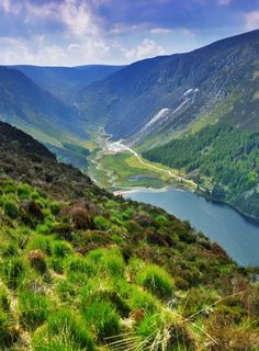 Glendalough, Ireland - my heart's home.