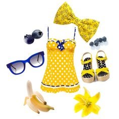 """Blueberry Banana Smoothie"" by velvetvolcano on Polyvore"
