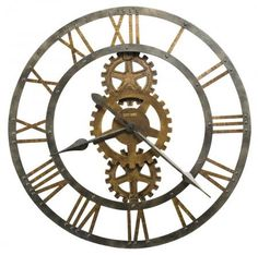 found it at clockwaycom 30in howard miller metal gallery wall clock chm2116