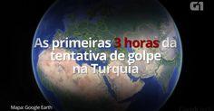 """Enquanto isto; o que será que Temer e sua turma estão fazendo? pânico na Turquia.O golpe não é sol militar; No Brasil atual é muito pior, pois são as instituições que deveriam defender O DIREITO CONSTITUCIONAL, porém se acham merecedoras de rasgar a constituição para abafar os seus desmandos arranjando um boi de piranhas """"para enganar o povo"""" que se ilude acreditando em seus arranjos. O Brasil está correndo este risco; A batata está assando em   alguns setores. 'As mesquitas aqui perto de…"""