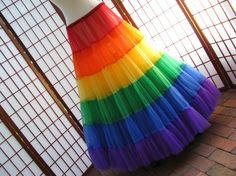 i'm not sure why anyone would need a rainbow petticoat, but it's lovely nonetheless.