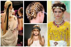 Yaz için Saç Aksesuarları