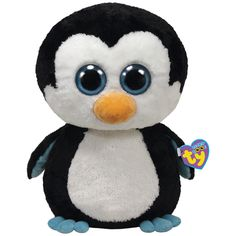 c9ea5943827 The Paper Store Ty® Waddles the Penguin - Large Beanie Boo s