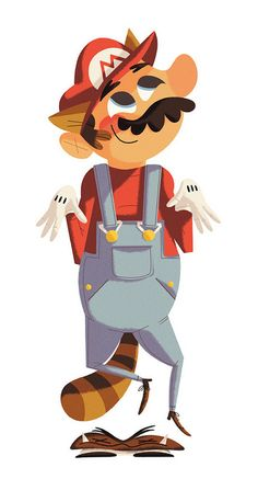 Super iam8bit - Mario by kolbisneat, via Flickr
