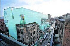Steven Holl: glasgow school of art, Reid bldg. Example Of Case Study, Steven Holl, Glasgow School Of Art, Multi Story Building, Street View, Architecture, Arquitetura, Architecture Design