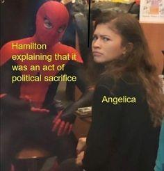 Angelica Schuyler💗 Christy Altomare, Hamilton Comics, Hamilton Fanart, Great Memes, Hamilton Musical, And Peggy, Alexander Hamilton, Marvel Memes, Musical Theatre