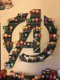 68 Ideas Pop Art Superhero Marvel The Avengers The Avengers, Avengers Room, Funko Pop Avengers, Hero Marvel, Marvel Logo, Marvel Marvel, Funko Pop Display, Funko Pop Shelves, Die Rächer