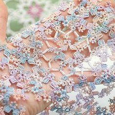 키스더레이스 청주점 @leumsa_sylvia 강사님 도안 #별무리 .@hola_sunhee 님이 작업하심. . 별무리(C) 2016.leumsa_sylvia all rights reserved. . #tattinglace #kissthelace_cj