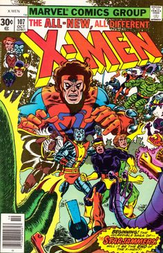 The X-Men #107 - Where No X-Man Has Gone Before