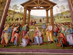 """L'ultimo Perugino è """"impressionista"""": ruba i colori dal paesaggio: ancora più serenamente, pastello. #AlTrasimeno @marcostancati"""