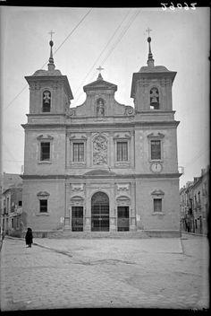 Murcia, iglesia s.antolin 1930 DESTRUIDO