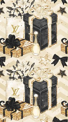 Louis Vuitton with Images Chanel Wallpapers, Pretty Wallpapers, Louis Vuitton Iphone Wallpaper, Chanel Wall Art, Mode Poster, Fashion Wallpaper, Fashion Wall Art, Christmas Wallpaper, Wall Art Designs
