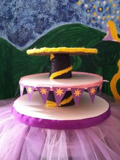 Lacey C's Birthday / rapunzel, tangled - Photo Gallery at Catch My Party Rapunzel Birthday Party, Tangled Party, Disney Princess Party, 6th Birthday Parties, Frozen Party, Birthday Fun, Birthday Ideas, Tangled Cupcakes, Baby Party