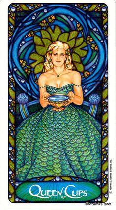 Art Nouveau tarot by Matt Myers - Rozamira Tarot - Веб-альбомы Picasa