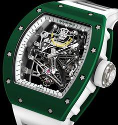 Bubba Watson's New Watch: Richard Mille RM 38-01