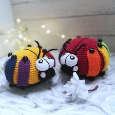 Amigurumi LADYBUG Crochet Pattern + coloring for child