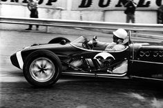 1961 Stirling Moss scores his penultimate grand prix victory at Monaco
