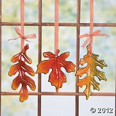 autumn leaves - nice fused pieces