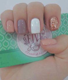 43 creative and simple summer nails design ideas 00027 Sassy Nails, Love Nails, Pink Nails, Dream Nails, My Nails, Nails Polish, Gelish Nails, Shellac, Nagellack Design