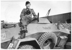 """LSSAH SdKfz 221 armoured reconisance car named: """"Habicht"""". Mg 34, Ww2 Pictures, Ww2 Photos, Mix Photo, Ww2 Tanks, Panzer, Armored Vehicles, Skin So Soft, Historical Photos"""