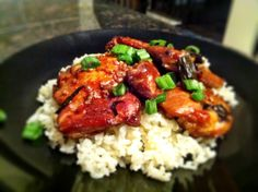 Bourbon Chicken - You can never have too much bourbon in your life!