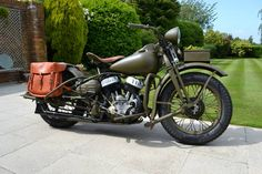 Buy a Harley Davidson 1943, it's time to change your bike!!