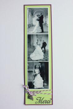remerciements mariage  miminesenfolie -sabryna Podium, Weeding, Place, Photos, Scrap, My Love, Ideas, Wedding Ideas, Marque Page
