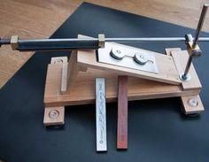 Ein (sehr) wirksames Toool zum Schärfen von Messern Messer schärfen,Schärfsystem