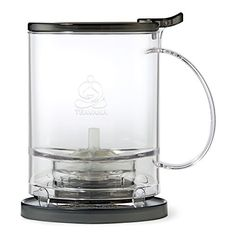 Teavana PerfecTea 16 Ounce Tea Maker - Black for sale online Perfect Cup Of Tea, Best Tea, Tea Infuser, Loose Leaf Tea, Cool Gifts, Just In Case, Tea Pots, Mugs, Black