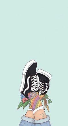 Shoes wallpaper, wallpaper quotes, cool wallpaper, iphone wallpaper vans, i Wallpaper For Your Phone, Wallpaper Iphone Cute, Aesthetic Iphone Wallpaper, Screen Wallpaper, Cool Wallpaper, Wallpaper Quotes, Aesthetic Wallpapers, Summer Wallpaper Phone, Cute Tumblr Wallpaper