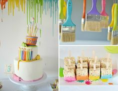Art Themed Birthday Party - Project Nursery