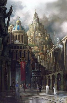 Post with 4436 votes and 144128 views. Tagged with fantasy, storytime, adventure; Fantasy City, Fantasy Castle, Fantasy Places, High Fantasy, Medieval Fantasy, Fantasy World, Medieval Town, Fantasy Art Landscapes, Fantasy Landscape