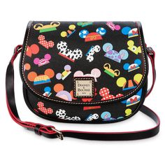 Product Image of Disney ''Ear Hat I AM'' Hallie Crossbody Bag - Dooney & Bourke # 1