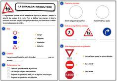 L'objectif de cette séquence est de permettre aux élèves de maîtriser la signification globale de la signalisation routière.Celle-ci se conclut par le passage d'un mini code de la route. ...