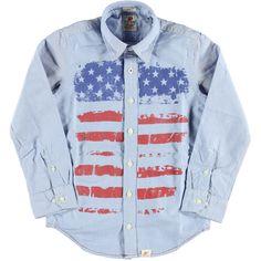 Blouse Blue Oxford Fantasy | American Outfitters | Daan en Lotje https://daanenlotje.com/kids/jongens/american-outfitters-blouse-blue-oxford-fantasy-001655