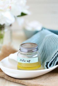 make up entferner selber machen mit mandelnpulver