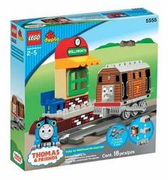 LEGO DUPLO Thomas & Friends - Toby at Wellsworth Station by LEGO. $149.90. Set builds Toby, Wellsworth Station, and partial track. 18 colorful pieces with simple assembly instructions. Roll down the line with Toby the Tram Engine. Compatible with other Thomas the Tank Engine Duplo sets (sold separately). Amazon.com                In the loveable railroad lore of Thomas the Tank Engine,  Toby is the elder statesman of engines, doling out advice to the younger  denizens of Sodor. P...