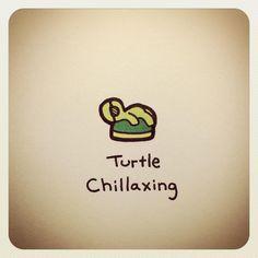 Cute Turtle Drawings, Animal Drawings, Adorable Drawings, Tiny Turtle, Turtle Love, Cute Turtles, Baby Turtles, Kawaii Drawings, Easy Drawings