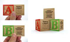 Bright Beginnings Daycare: Interactive Business Card