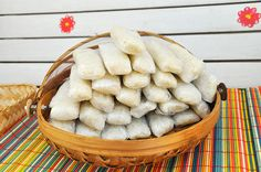 Lemper is perhaps the best Indonesian snack I know. I love this sticky rice snack filled with well seasoned, sweet chicken floss. Good spice mixture in this recipe! Rice Snacks, Healthy Snacks, Indian Food Recipes, Asian Recipes, Indonesian Cuisine, Indonesian Recipes, Rice Rolls, Well Seasoned, Dutch Recipes