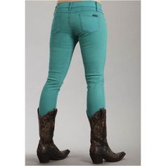 NWT Stetson Turquoise Skinny Jean Brand new with tags, size 8 regular. 32in inseam. Please ask for measurements if you are unfamiliar with brand or unsure of fit. Stetson Jeans Skinny