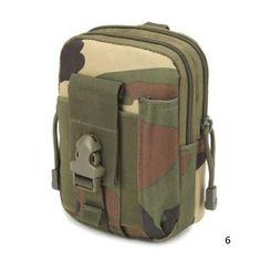 Universal Outdoor Military Tactical Holster Molle Hip Belt Bag Wallet Pouch Waist Phone Case For iPhone 6 7 Plus 5 4 Waist Pouch, Belt Pouch, Pouch Bag, Iphone 5s, Iphone 7 Plus, Camouflage, Tactical Holster, Porsche, Running