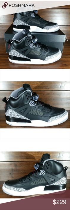 b26a07dd513258 Air Jordan Spizike Black Varsity Red Cement Grey Air Jordan Spizike  Black Varsity Red Cement Grey 315371-034 Men s Multi Size Condition  Brand  new with box ...