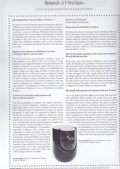 PRECIOUS N°27 / Maison & Objet / September 2015 / Imbrique Side Table