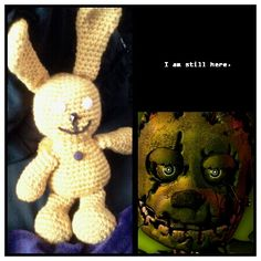 FNAF 3 Springtrap {my third favorite} created by me (Charise Edwards)