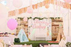 Boho Themed Twin Birthday Party styled by Design Avenue Coachella Party Theme, Coachella Birthday, Festival Themed Party, 1 Year Birthday Party Ideas, Twin Birthday Parties, Wild One Birthday Party, 25th Birthday, Bohemian Debut Theme, Boho Theme